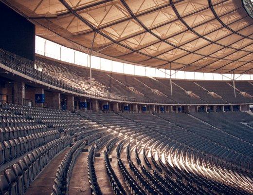 Sitzplätze im Olympiastadion Berlin